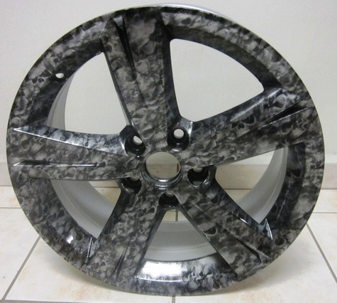 FIBER CARBON FINISH Wheel cover