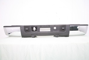 07-12 Silverado/Sierra 1500 Rear Chrome Bumpers