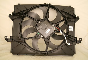 2013 Dodge Ram Raduator Fan Module