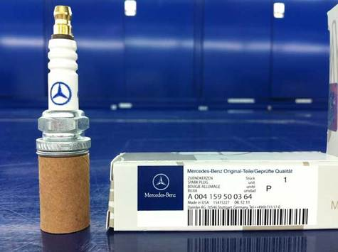 Mercedes Benz genuine Spark Plug part # 0041595003