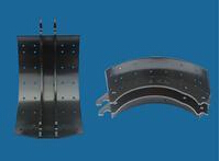TRUCK LINED BRAKE SHOE 4551Q,X
