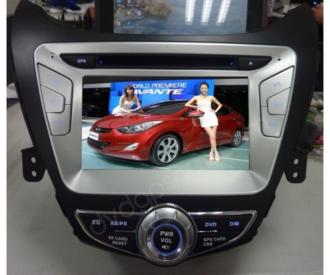 Hyundai Elantra navigation system for 2011 2012 2013 year