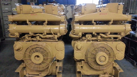engine caterpillar D398B 66B/75B used
