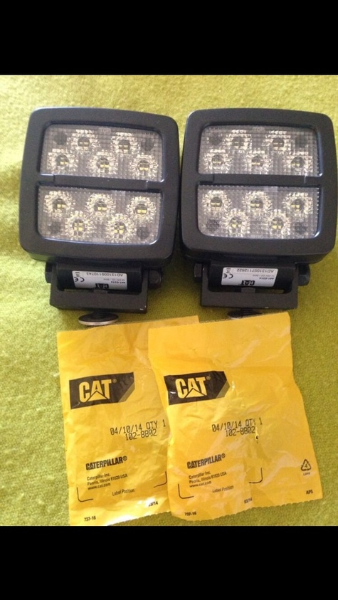 Led Cat Work Lights : Cat led v w worklights mpn
