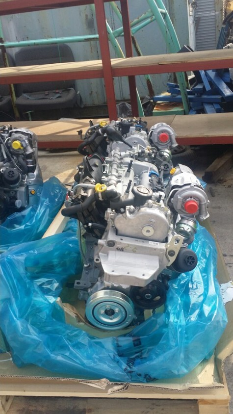 GM Diesel Engine Assy