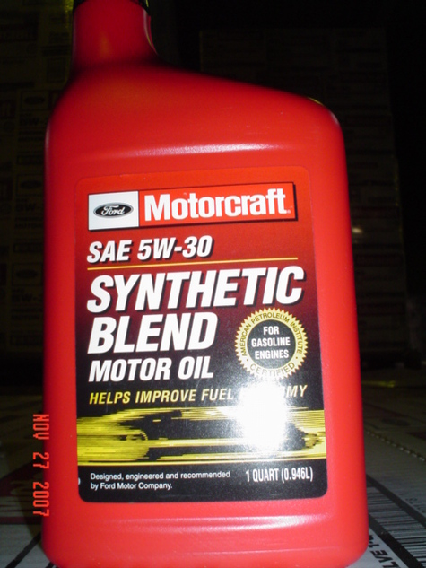 Motorcraft 5W30 Synthetic Blend 55 Gal Drum