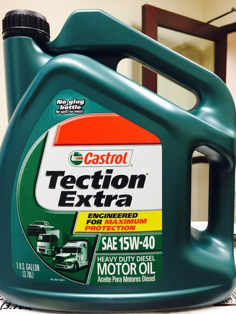 Castrol 15w40 heavy duty diesel 3x1 gallon for Best motor oil in the world