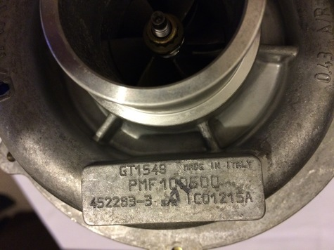 Brand New Genuine OEM Garrett Turbocharger