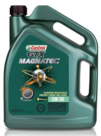 castrol magnatec 5w30 synthetic blend 3x5 quarts. Black Bedroom Furniture Sets. Home Design Ideas