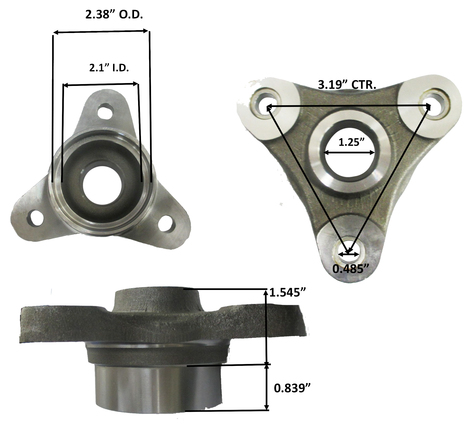 Drive Shaft End Flange