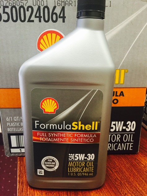 Shell 5W20 Full Synthetic