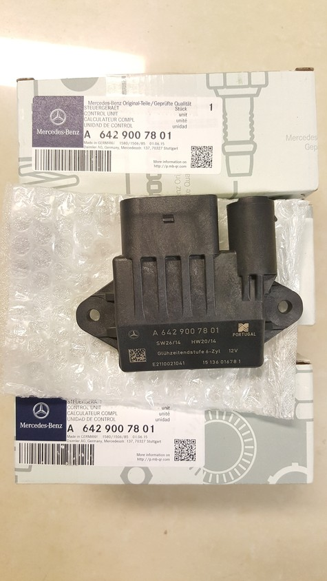 Genuine Mercedes-Benz Control Unit - Glow Time Output Stage