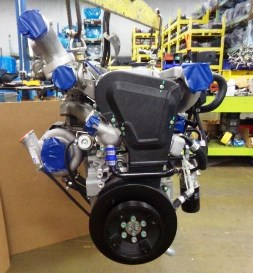 Brand new 300hp twin turbo 3 2L engines