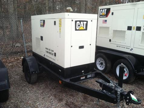 Several Caterpillar XQ20 Industrial Power Module powered by CAT C2.2 Engine. Rated at 20 kw/25 kva Standby, 60HZ, 1800RPM. Year 2008