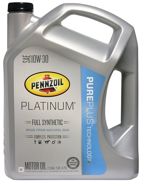 Pennzoil platinum full synthetic 10w30 3x5 quart for Synthetic motor oil sale