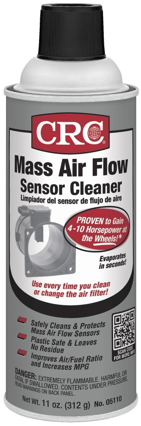 CRC 05110 Mass Air Flow Sensor Cleaner - 11 Wt Oz. New