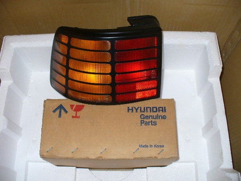 90 91 Scoupe tail light LH