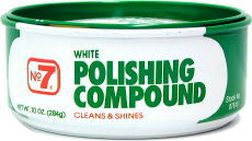 No. 7 White Polishing Compound 10oz.