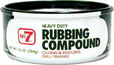 No. 7 Rubbing Compound 10oz.