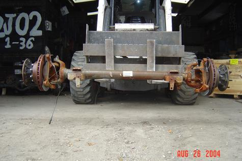 99-03 F450/F550 complete front axle assy