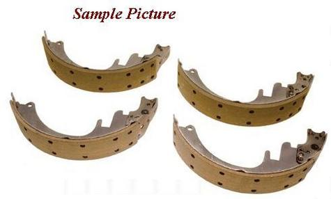 BENDIX RELINED REAR BRAKE SHOES FORD E250 E350 F300 F200 F250 F350