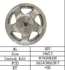 ALLOY STEEL WHEEL
