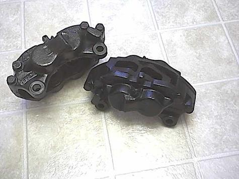 We offer LAFORZA Front Brake Calipers and FORD COBRA Caliper & Vented Rotor conversion