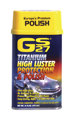 Car Polish - GS27 Premium Formulation