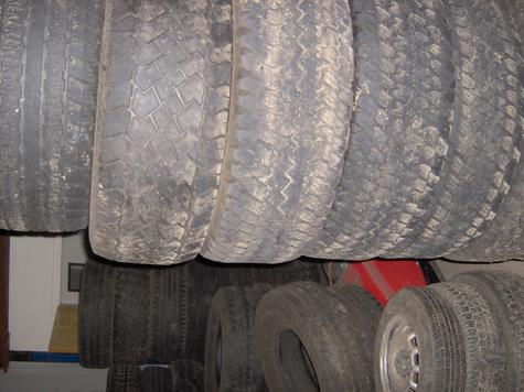 Used Tires -Container Loads