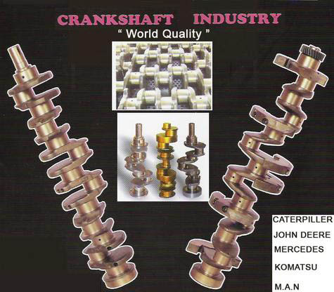 JOHN DEERE CRANKSHAFT