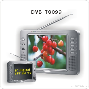 Sell DVB-T8099, Car Digital TV, DVB Tuner, MPEG2 Decoder
