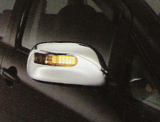 Door Mirror Cover with Lamp For Toyota WISH.