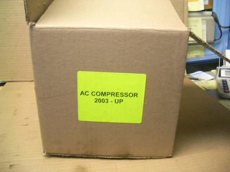 FORD CROWN VICTORIA 2003 AC COMPRESSORS
