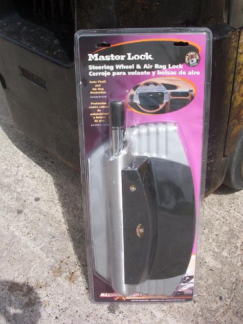 80-MasterLock Steering Wheel & Air Bag Lock Sets