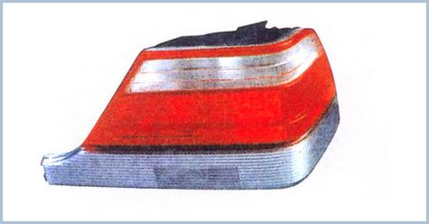 Mercedes 140 Tail Lamp