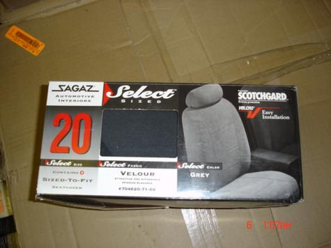 Sagaz Car and Truck Seatcovers