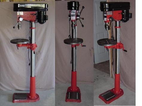 NEW 16 Speed Drillpresses in box 3/4 HP Standup model