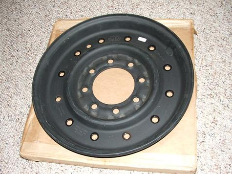 Humvee Outer Wheels Rims