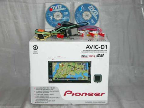 "PIONEER AVIC-D1 2 DIN NAVIGATION GPS 6.5"" TOUCH SCREEN"