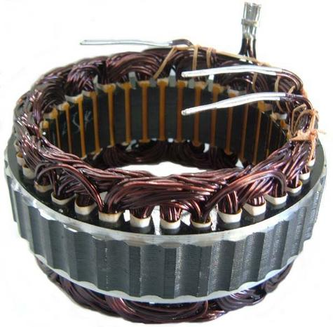 Automotive surplus stator