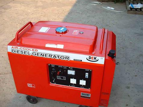 generator set, engine, pump