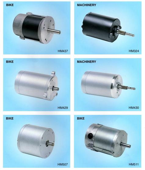 DC motor for door openner, condensor, blower, various machinery