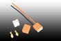 Direct insert ceramic lampholder H7