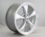 "Ford Mustang 2005-2008 17"" Silver Bullitt Wheel Aluminum - photo 0"