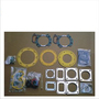S6D125 engine gasket set - photo 0