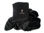 Black Pontiac fleece pillow blanket