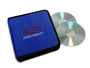 Blue Chevrolet Motorsports CD / DVD Case