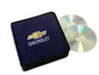 Navy Blue Chevrolet CD / DVD Case
