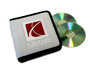 White Saturn CD / DVD Case