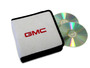 White GMC CD / DVD Case